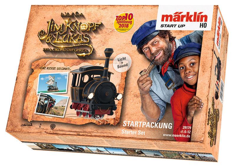 Marklin 29179 Marklin start up-Confezione iniziale Jim Bottone merce nuova