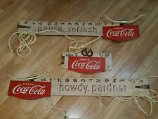 1950's Coca-Cola Coke Howdy Pardner Masonite Kay Display Festoon