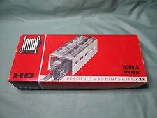 AE409 JOUEF HO DEPOT DE MACHINES DOUBLE VOIE TRAINS MINIATURES Ref 728 BON ETAT