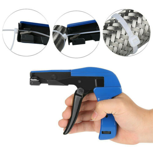 Details about  /Portable Tie Cable Gun Installation Tensioning Fasten for 2.2mm-4.8mm Nylon Wire