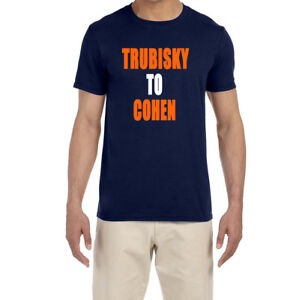 pretty nice 4a303 a1766 Details about Chicago Bears Mitchell Trubisky To Tarik Cohen T-Shirt