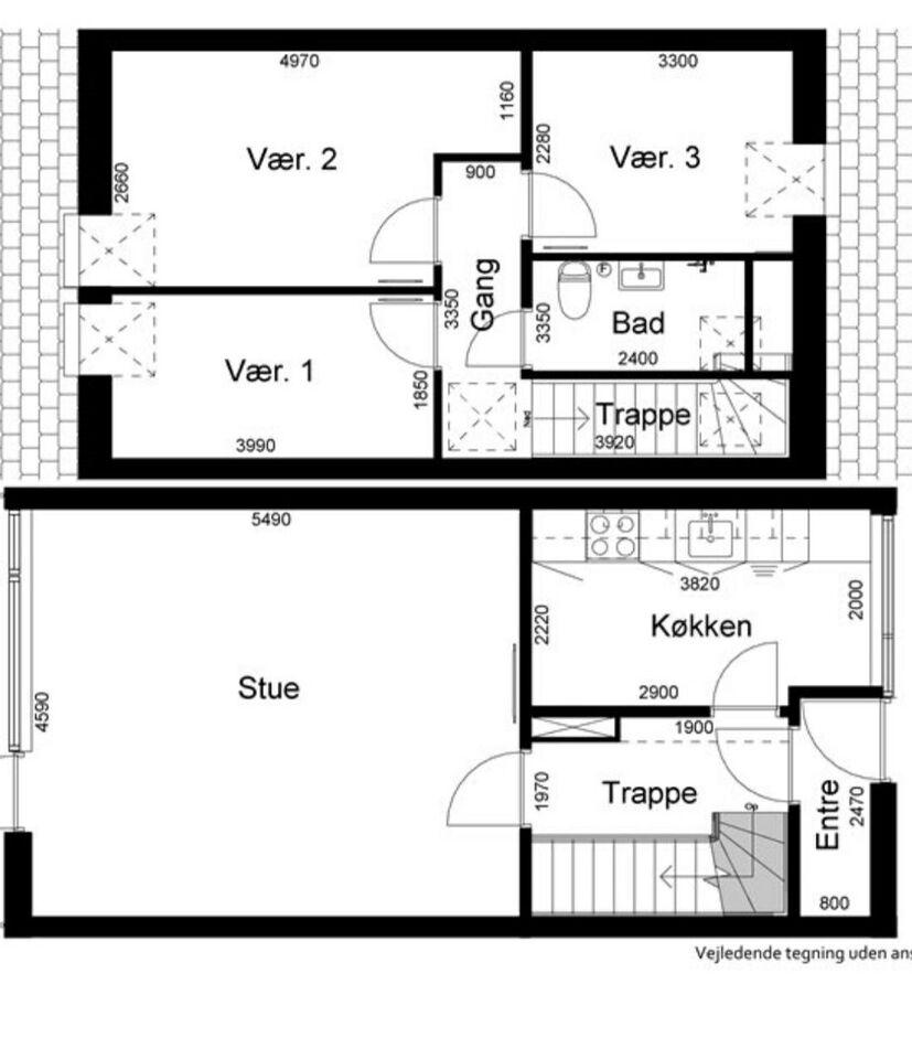 2610 4 vær. lejlighed, 89 m2, husdyr tilladt