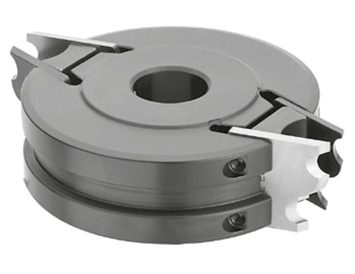 FLURY UNI Sicherheits Profilmesserkopf 100x40x30mm Z=2