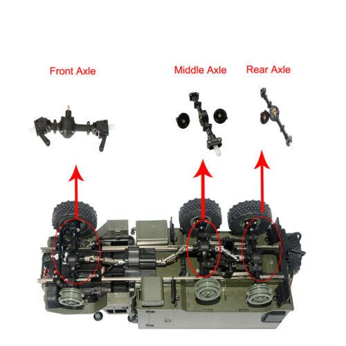 Metal Gear Robust Front Central Hinterachse Ersatzteil For WPL B36 B16 zss