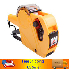 Mx5500 Eos 8 Digits Price Tag Gun Labeller Maker With Label Roll Ink Roller X5z3