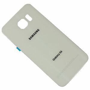 Back-Door-Glass-Battery-Cover-For-Samsung-Galaxy-S6-G920T-T-Mobile-White