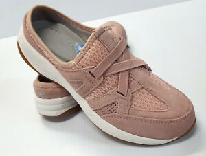 Easy-Spirit-Women-039-s-Tunein-Sneaker-Style-Clogs-Color-Light-Pink-Size-7-8-9-or-10