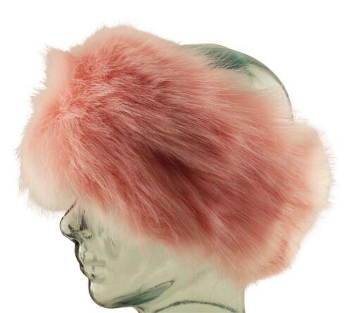 Luxury Soft Faux Fur Ushanka Cossack Ear Warmer Ski Ear Muffs Head Band Hat