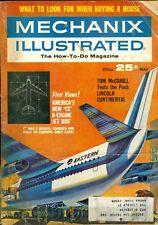 1965 Mechanix Illustrated Magazine: New CX 6-Engine Jet Bus/Lincoln Continental