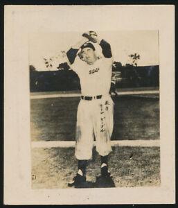 1949-Ken-Gables-San-Francisco-Seals-Japan-Baseball-Tour-Card-Pittsburgh-Pirates