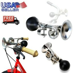 Bike Bicycle Cycling Retro Metal Air Horn Hooter Bell Bugle Trumpet Honking Bulb