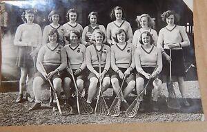 Photograph Social History Royal School Lacrosse Team 1951 - Rossendale, United Kingdom - Photograph Social History Royal School Lacrosse Team 1951 - Rossendale, United Kingdom