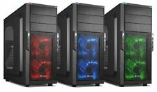 (1) SHARKOON Dual Core Gaming Desktop PC Computer 4Gz Custom Built System