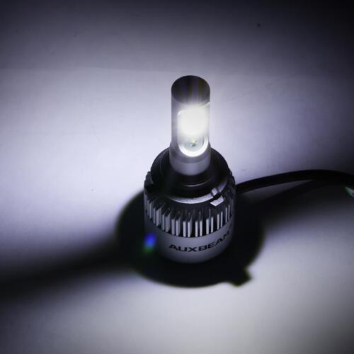 AUXBEAM 9006 HB4 COB LED Headlight Bulbs Low Beam 6500K 72W 8000LM White Light