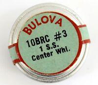 Old Stock Bulova 10brc Sweep Second Center Wheel Watch Part 3