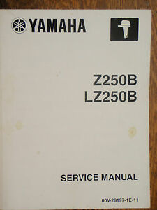 2003 yamaha z250c and lz250c outboard motor service manual