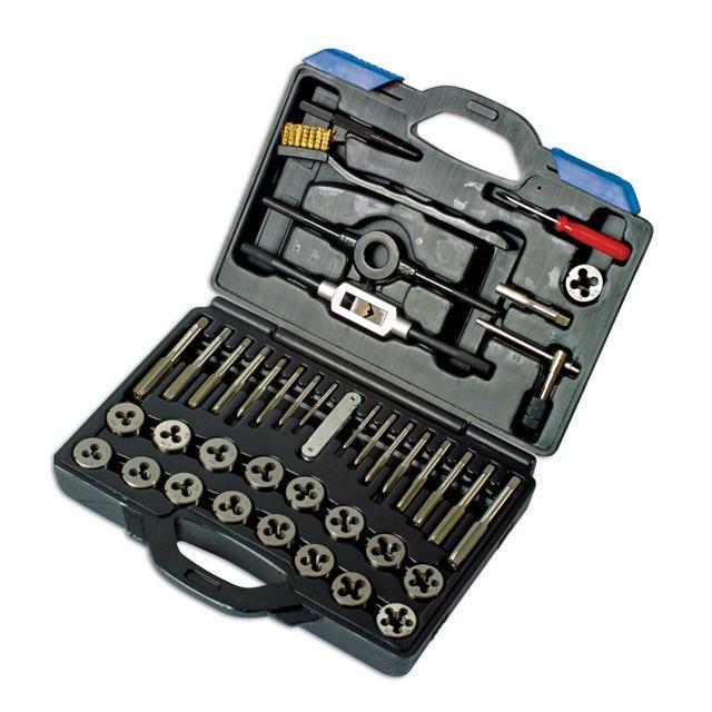 Laser Tap Die Set 40pc Standard Carbon Steel Plus Accessories 2159