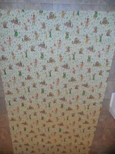RARE-VTG-American-Greetings-HOLLY-HOBBIE-Polished-Cotton-MANES-FABRIC-2-Yards