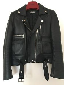 Kooples Blouson The 36 Cuir 34 Perfecto Leather Veste Xs 0 T tPRPTw