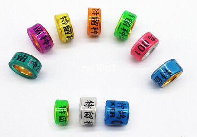 100*10//11//12//13//14mm personal name customized band chicken pigeon bird leg rings