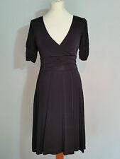 s. OLIVER Damen  Kleid  Jerseykleid  Gr. 34  schwarz  Viscose  Kurzarm  WIE NEU