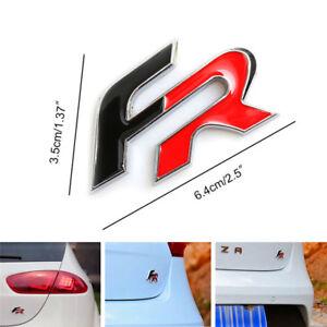 Emblema-FR-Aluminio-Ibiza-Leon-Cupra-Toledo-Embleme-Emblem-Insignia-FR