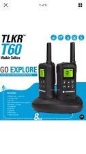 ** Motorola Talker TLKR T60 2 Way Walkie Talkie 8km PMR 446 Radio 2 Pack **