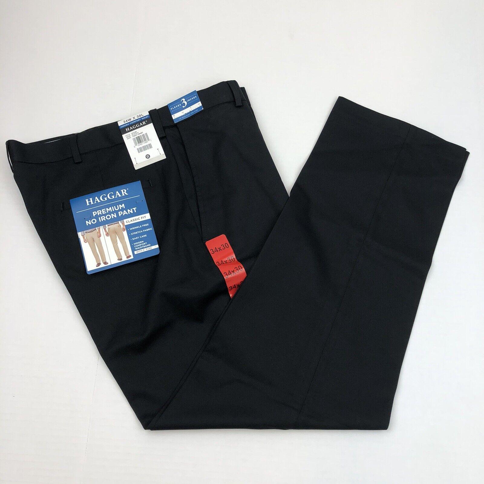 NEW Men/'s BEST Collection BLACK PANTS Flat sz 42 waist