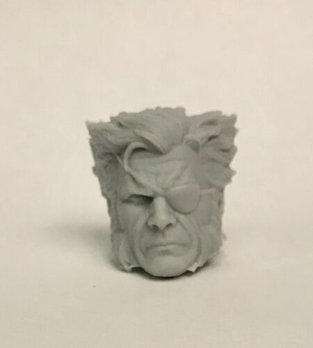 Marvel Legends ML Wolverine Eye Patch 1:12 scale Custom Cast