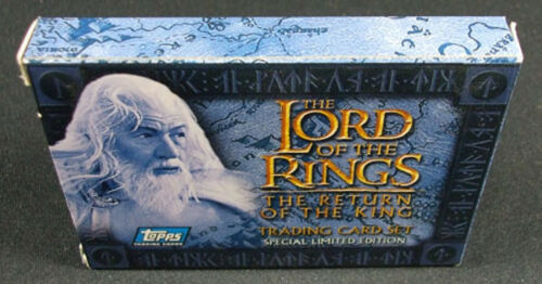 20 2004 Topps The Lord of the Rings The Return of the King Factory Set Mint