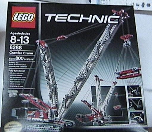 Nuovo Lego Technic 8288 Cingolato Gru Nuovo Imballato