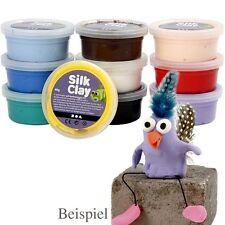 II Silk Clay Seidenknete 20x40g Modelliermasse Basic Set I