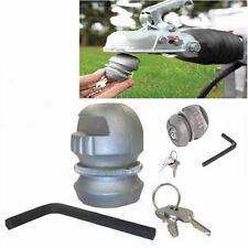 Trailer Caravan Anti Theft Tow Ball Insertable Hitch Coupling Lock Hitchlock 84c
