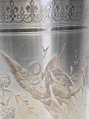 Antik Französisch Julep Kelch Sterlingsilber Minerva Kopf