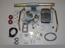 VW Bug Super Beetle DuneBuggy Weber Carburetor Kit w/Genuine Weber Dual Port
