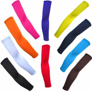 1 Pair Summer Cooling Arm Sleeves Cycling Biking Sport Sun Protection UV Cover