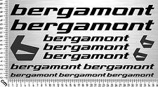 BERGAMONT Sticker Set | Fahrrad Rahmen Aufkleber | Bike Frame Sticker | 13 Decal