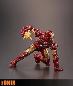 IRON-MAN-MARK-III-Damage-Ver-IRON-MAN-ARMOR-COLLECTION-Gashapon-Mini-figure