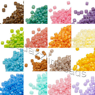 1,000 Little Duracoat Opaque Miyuki Delica 11/0 Rocaille Round Glass Seed Beads
