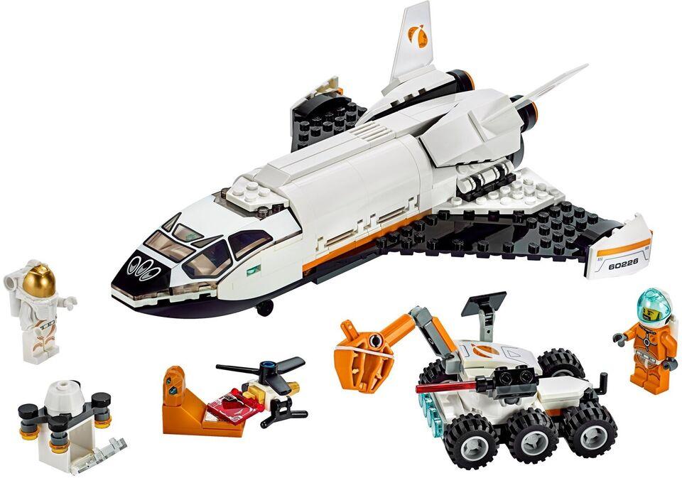 Lego City, 60226 Mars Research Shuttle UÅBNET