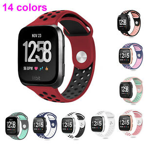 Hot-Soft-Silicone-Bracelet-Sport-Watch-Band-Strap-for-Fitbit-Versa-Smart-Watch