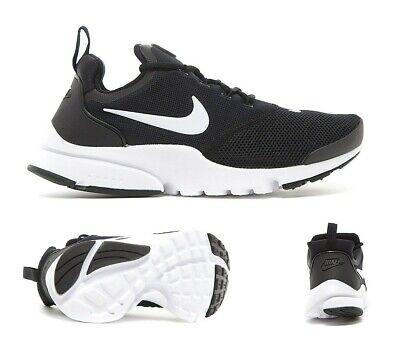 Junior Nike Presto Fly (GS) Black/Wh/Wh