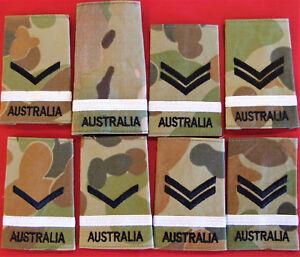 IRAQ-AFGHANISTAN-WAR-AUSTRALIAN-ARMY-OFFICER-TRAINING-UNIFORM-BADGES-PATCHES
