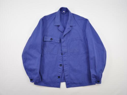 Vintage French Work Chore Jacket, French Worker Ja