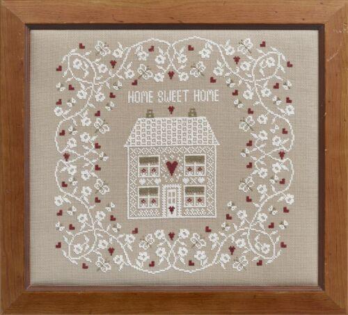Empresa de muestreo de históricos Blanco Home Sweet Home Kit Punto De Cruz