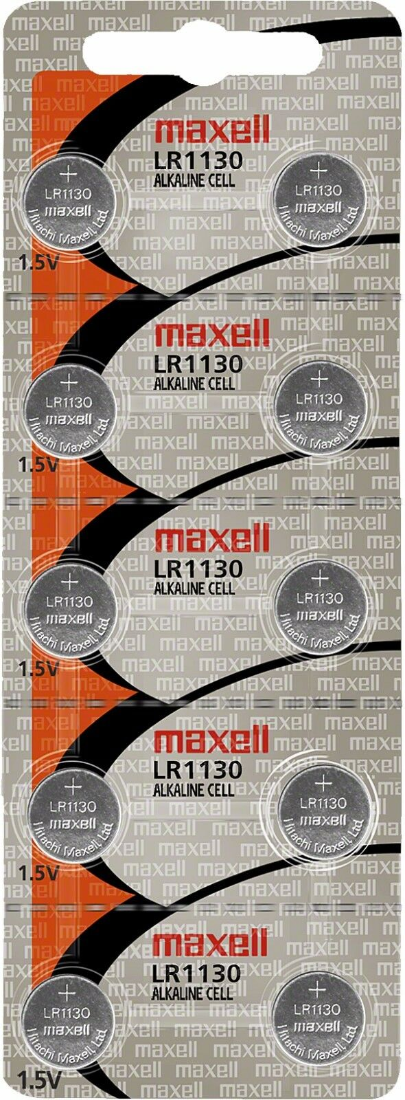 200pcs Maxell LR1130 1.5V Alkaline Cell Battery (Box Set)