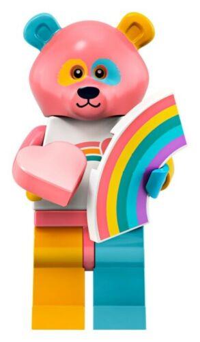 Lego rainbow bear costume guy series 19 unopened new factory sealed