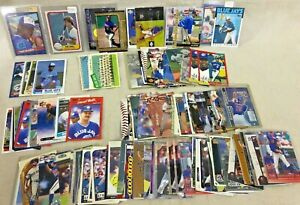 Toronto-Blue-Jays-Baseball-Card-Lot-of-159-Wells-Delgado-Fielder-McGriff-Cruz