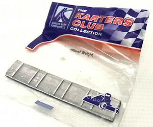 Karters Club Collection Steel Wheel Balancing Weights for Kart Rims
