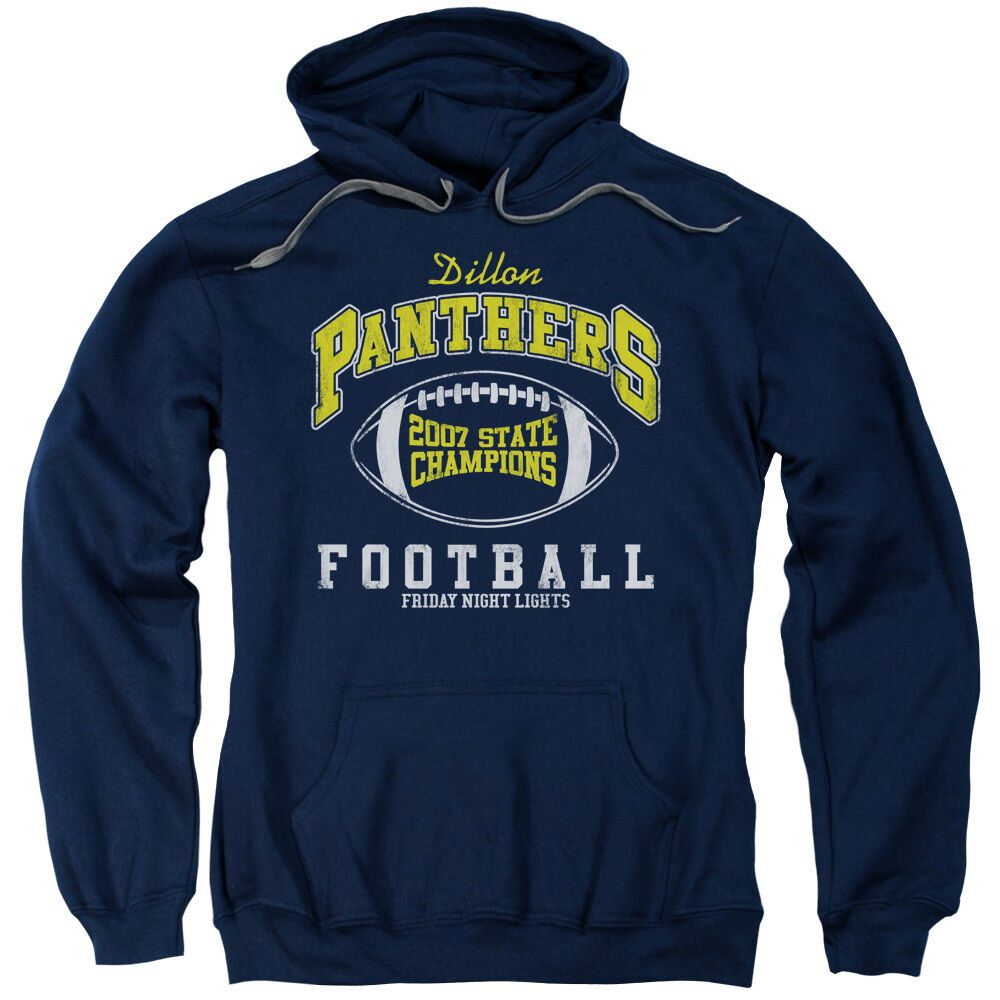 Friday Night Lights Dillon Panthers 2007 STATE CHAMPS Licensed Sweatshirt Hoodie